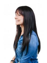 Перука от естествена коса Пами- 65см