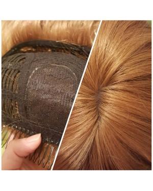 Перука от 100% естествена коса- Джесика 55см