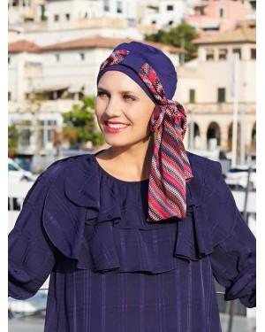 Дамски тюрбан Ibiza в синьо