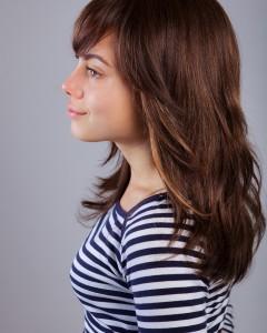 Перука от естествен косъм Кармен