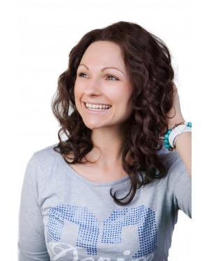 Перука от естествена коса Джулия