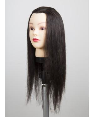Учебна фризьорска глава 705069 - с коса 45-50см