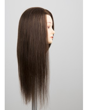 Учебна фризьорска глава 705067 - с коса 50-55см