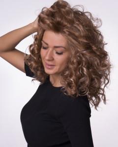 Перука Филипа- къдрава изкуствена коса