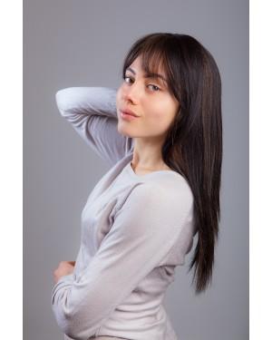 Перука от 100% естествена коса- Даниела 55см