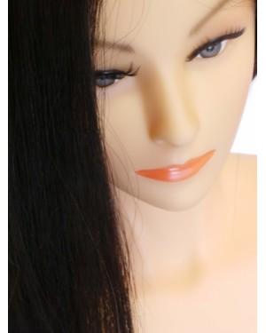 Учебна фризьорска професионална глава с коса 705078