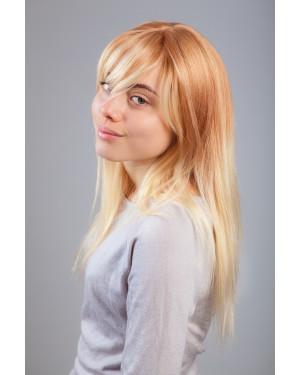 Перука от 100% естествена коса- Моли 55см