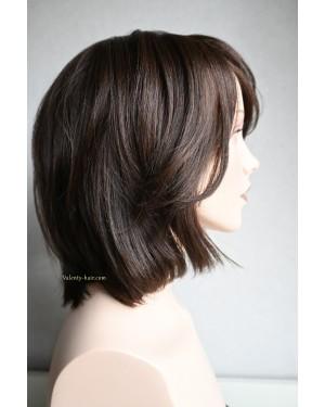 Перука от естествена коса Елинор